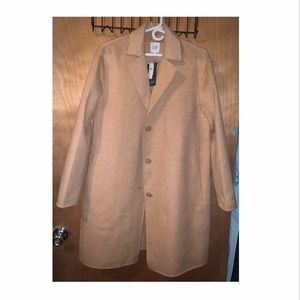 NWT GAP Size M Women's Brown Wool Jacket